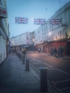 My Portobello Road. The quiet one, just before sunrise.